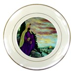 Jesus, A Man Of Sorrows   Ave Hurley   Porcelain Plate