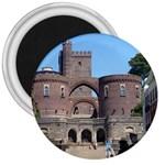 Helsingborg Castle 3  Button Magnet