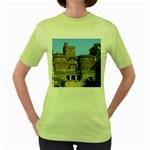 Helsingborg Castle Women s T-shirt (Green)