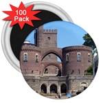Helsingborg Castle 3  Button Magnet (100 pack)