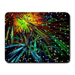 Exploding Fireworks Small Mouse Pad (Rectangle)