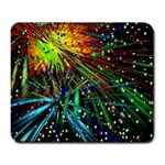 Exploding Fireworks Large Mouse Pad (Rectangle)
