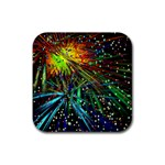 Exploding Fireworks Drink Coasters 4 Pack (Square)