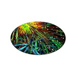 Exploding Fireworks Sticker 10 Pack (Oval)