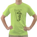 Domestically Disabled Men s T-shirt (Green)