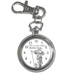 Domestically Disabled Key Chain Watch