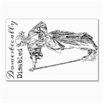 Domestically Disabled Postcard 4 x 6  (10 Pack)