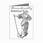 Domestically Disabled Mini Greeting Card