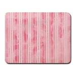 Pink Grunge Small Mouse Pad (Rectangle)