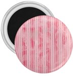Pink Grunge 3  Button Magnet