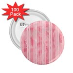 Pink Grunge 2.25  Button (100 pack)