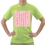 Pink Grunge Men s T-shirt (Green)