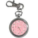 Pink Grunge Key Chain Watch