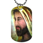Jesus - Eyes of Compassion - Ave Hurley - Dog Tag (One Side)