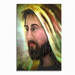 Jesus - Eyes of Compassion - Ave Hurley - Postcards 5  x 7  (Pkg of 10)
