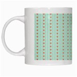 Hearts & Stripes White Coffee Mug