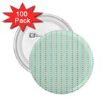 Hearts & Stripes 2.25  Button (100 pack)