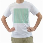 Hearts & Stripes Men s Two-sided T-shirt (White)