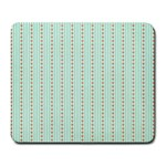 Hearts & Stripes Large Mouse Pad (Rectangle)