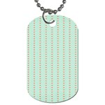 Hearts & Stripes Dog Tag (One Sided)