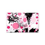 Fantasy In Pink Sticker (Rectangle)