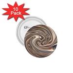 Precious Metals Disorganized Fractal 1.75  Button (10 pack)