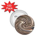 Precious Metals Disorganized Fractal 1.75  Button (100 pack)