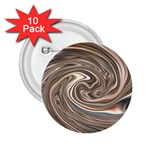 Precious Metals Disorganized Fractal 2.25  Button (10 pack)