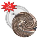 Precious Metals Disorganized Fractal 2.25  Button (100 pack)