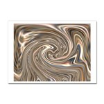 Precious Metals Disorganized Fractal Sticker (A4)