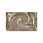 Precious Metals Disorganized Fractal Sticker Rectangular (100 pack)