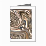 Precious Metals Disorganized Fractal Mini Greeting Card