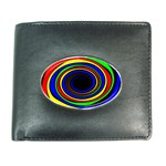 Primary Colors Bright Fractal Wallet