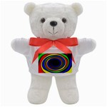 Primary Colors Bright Fractal Teddy Bear