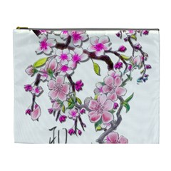 Cherry Bloom Spring Cosmetic Bag (xl) by TheWowFactor