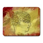 Brain Map Small Mouse Pad (Rectangle)