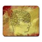 Brain Map Large Mouse Pad (Rectangle)