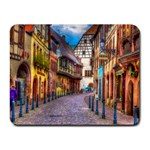 Alsace France Small Mouse Pad (Rectangle)