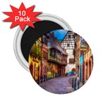 Alsace France 2.25  Button Magnet (10 pack)