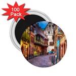 Alsace France 2.25  Button Magnet (100 pack)