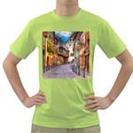Alsace France Men s T-shirt (Green)