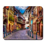 Alsace France Large Mouse Pad (Rectangle)