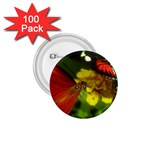Butterfly 1.75  Button (100 pack)