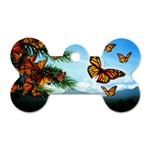 Butterfly Dog Tag Bone (One Side)