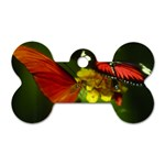 Butterfly Dog Tag Bone (Two Sides)