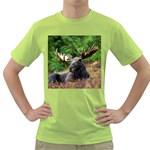 Majestic Moose Men s T-shirt (Green)