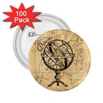 Discover The World 2.25  Button (100 pack)