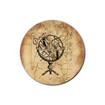 Discover The World Drink Coaster (Round)