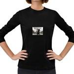 French Bulldog Women s Long Sleeve T-shirt (Dark Colored)