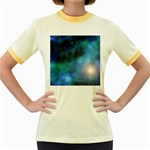 Amazing Universe Women s Ringer T-shirt (Colored)